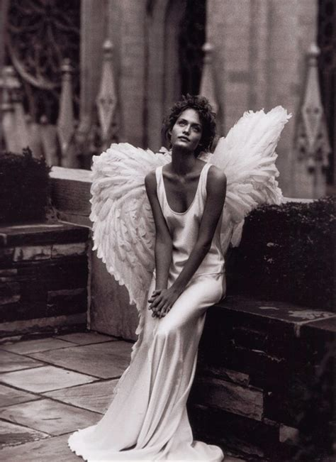 foto film on the wings of love amber valletta in quot city of angels quot by peter lindbergh