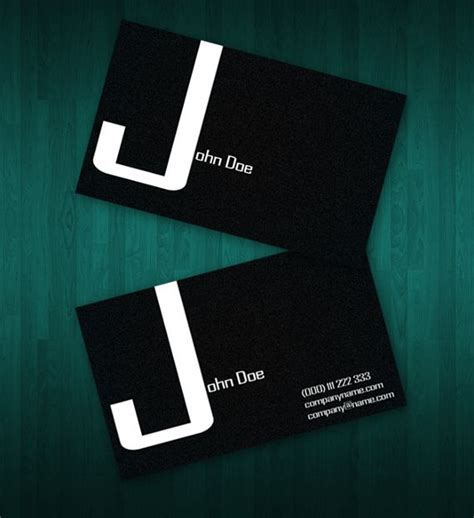 15 two sided business card templates free diy
