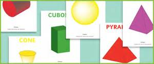 3d shape posters free early years amp primary teaching