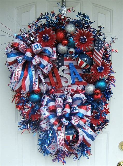 4th of july wreath craft ideas pinterest