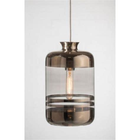 platinum glass bottle ceiling pendant contrasting