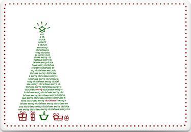 printable envelope template christmas tree