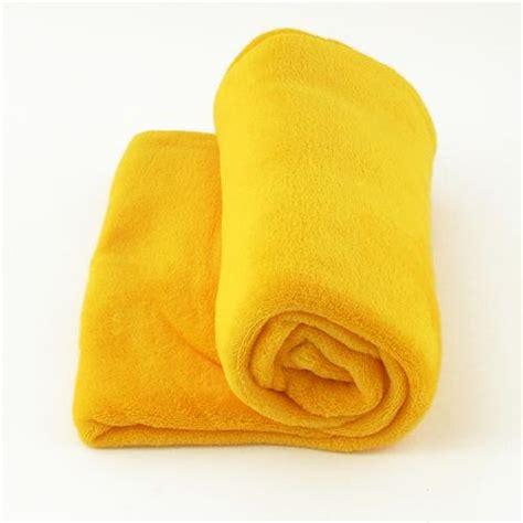 fleecedecke gelb decke microfaser 130 x 170 cm tagesdecke kuscheldecke