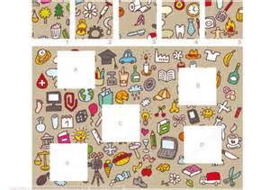 doodle do puzzle match pieces doodle puzzle free printable puzzle