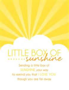 Get Well Soon Basket Ideas 1000 Images About My Gift Ideas On Pinterest Box Of Sunshine Free Printable Tags And Thank