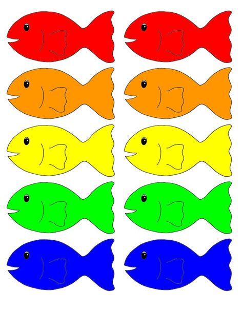 what color are fish go fish approaches to learning going fishing