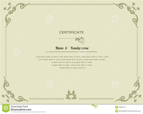 certificate designs templates home for sale brochure
