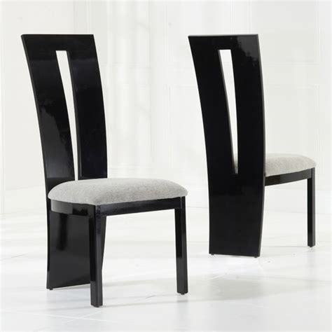 High Back Wood Dining Chairs Valencie Solid Wood High Back Dining Chair Black Or Brown Mhf Valencie Dc 163 175 75 B E Brands