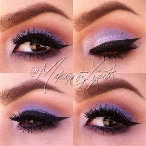 Eyeshadow Soft soft lilac eyeshadow makeup