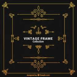 gatsby border template cole 231 227 o frames do vintage baixar vetores gr 225 tis