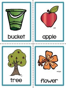 Free Printable Noun Picture Cards noun picture cards by christine statzel teachers pay