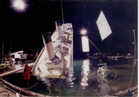 titanic film shooting photos from the set of the iconic film titanic 10 pics