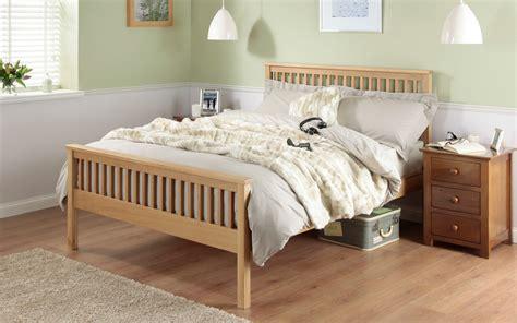 Silentnight Dakota Oak Wooden Bed Frame Mattress Online Dakota Bed Frame