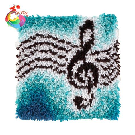 sted latch hook rug kits new year decoration latch hook rug kits set of knitting needles mat for bathroom knitting loom