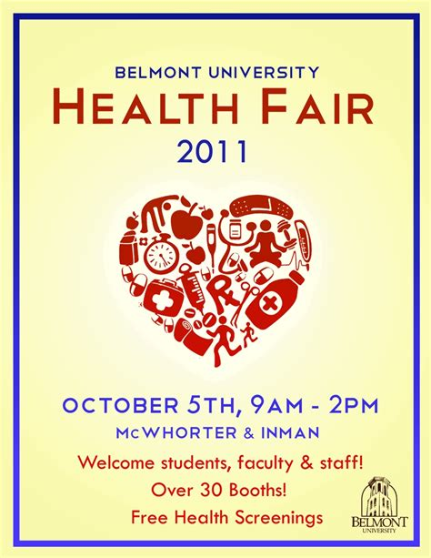 health fair flyer templates free pin by figueroa on health fair ideas health fair
