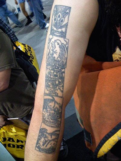 Joss Tattoos by Dh Photos From San Diego Comic Con Pt 2 8 3 07