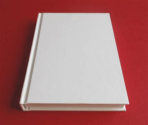 picture of a blank book hardcover blank book 7 7 8 x 5 3 8 240 pages