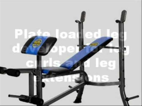 marcy weight bench instructions marcy weight bench youtube