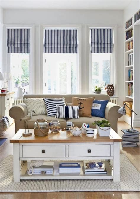 seaside style bedrooms bring the shore into home with beach style living room