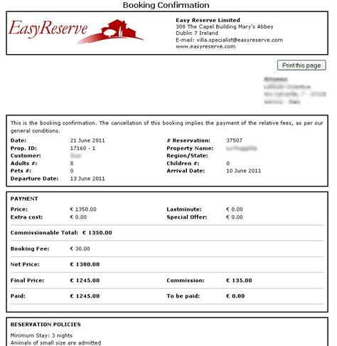 travel booking template easy reserve travel program sle reports