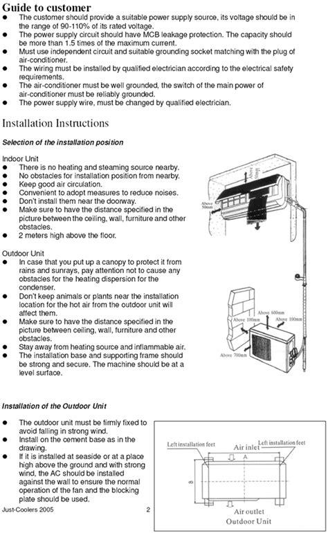 Diy Air Conditioning Installation Manual