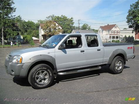 frontier nissan 2003 2003 nissan frontier xe v6 crew cab 4x4 in silver ice