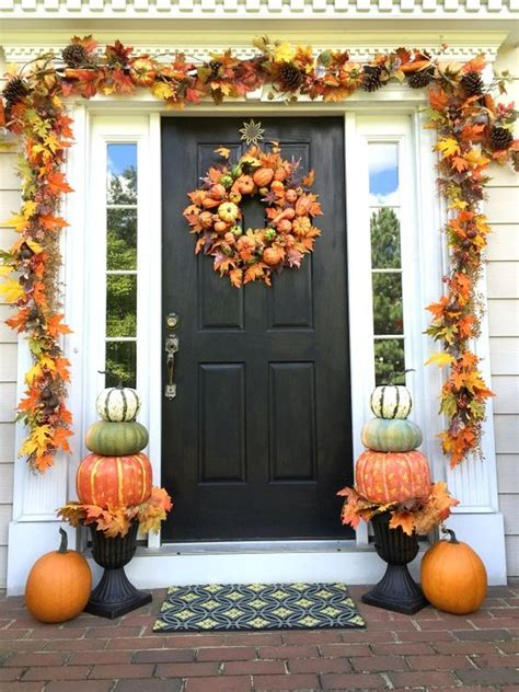 front porch fall decor diy fall front porch where to find all the decor items