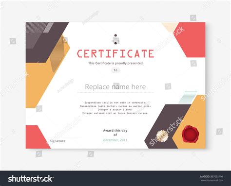 diploma certificate template design international print