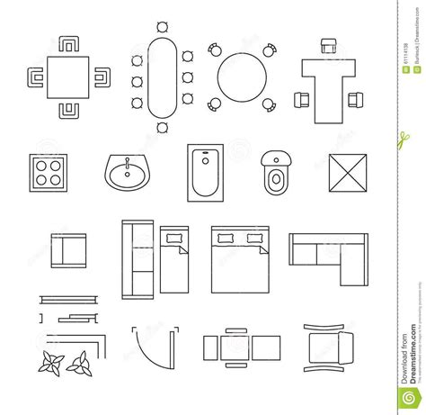 furniture plan key decobizz com office floor plan furniture symbols wheelchair symbol dwg