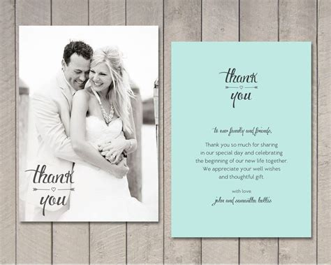 thank you for wedding invitations best 25 wedding thank you cards ideas on