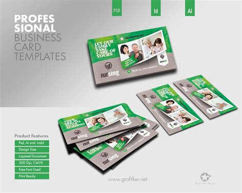 envato business card templates professional business card templates by grafilker on