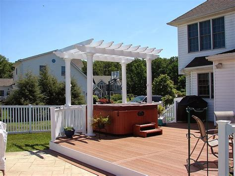 Pavilion Patio Furniture by Composite Material Pergola Installation Guide Easy