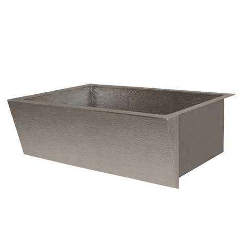 brushed nickel farmhouse sink zuma brushed nickel farmhouse sink trails
