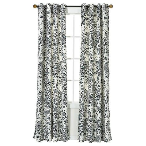 Paisley Curtains Blue For Family Room Windows Target Threshold Paisley Window Panel 24 99 Each We Need At Least