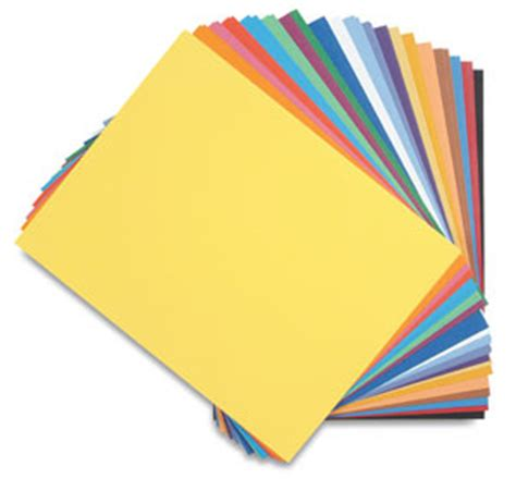 Craft Drawing Paper - canson colorline papers blick materials