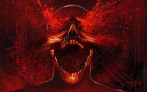 imagenes terrorificas sangrientas calaveras de miedo imagui