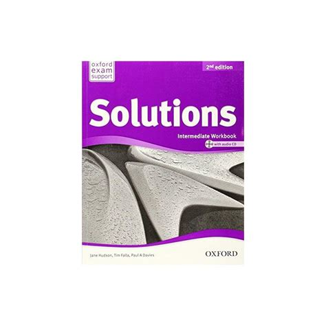 libro solutions intermediate workbook cd solutions 2nd ed intermediate workbook cd ed oxford libroidiomas