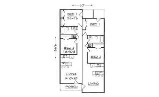 Narrow Apartment Floor Plans Narrow Apartment Front Elevation Studio Design