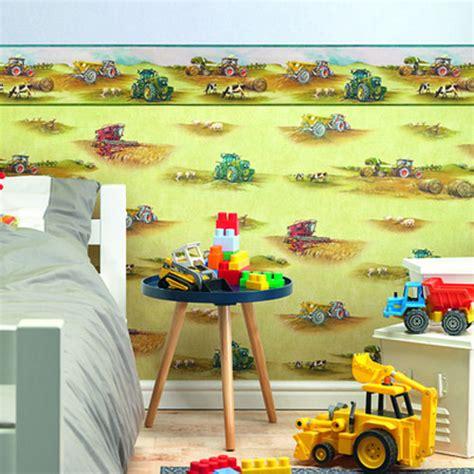 Kinderzimmer Gestalten Traktor by Kinderzimmer Tapete Traktor Bibkunstschuur