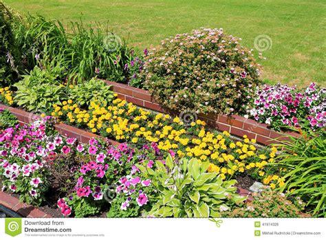 design flower beds free landscape design stock photo image of decoration green