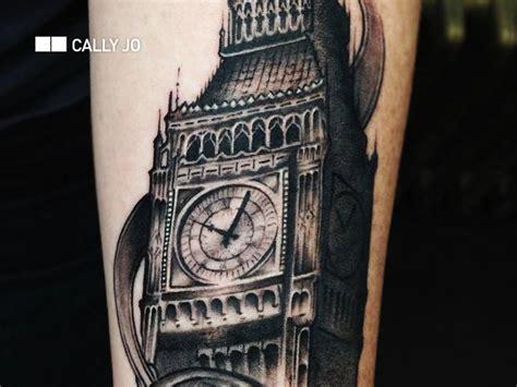 london tattoo big ben realistic big ben tattoo by bang bang nyc