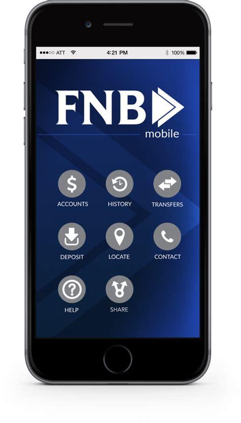 fnb mobile fnb mobile app fnb bank