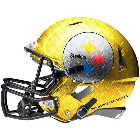 How To Make A Football Helmet Out Of Paper - best 25 pittsburgh steelers helmet ideas on