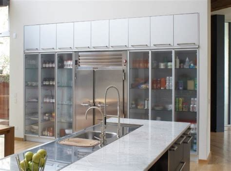 20 beautiful kitchen cabinet designs with glass