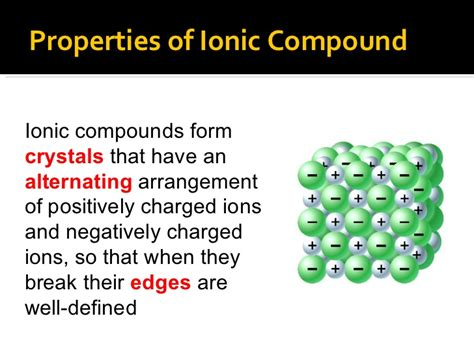 properties ionic bonds and ionic compounds youtube
