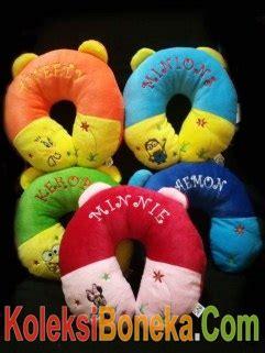 Bantal Leher Boneka Pucca Bordir jual boneka bantal untuk leher harga murah dan berkualitas