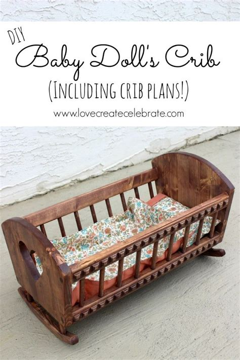 Baby Doll Crib Plans Free Woodworking Projects Plans Plans For Baby Crib