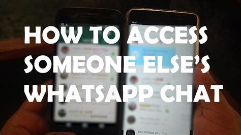 how to prevent someone from hacking your whatsapp using 2 how to access anyone s whatsapp account from your phone
