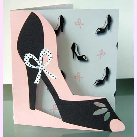 high heel shoe template for card paper high heel shoe template high heeled shoe card and