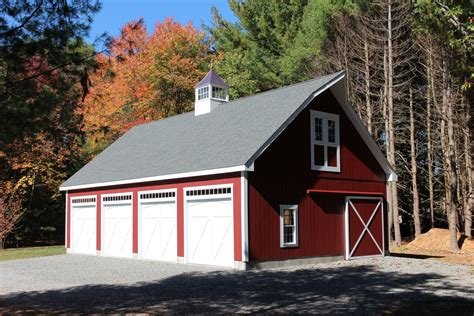 barns garages 4 car garage barn in stow ma the barn yard great country garages